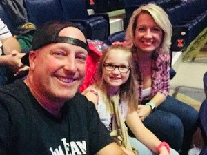 William attended Justin Moore: Hell on a Highway Tour on Nov 3rd 2017 via VetTix
