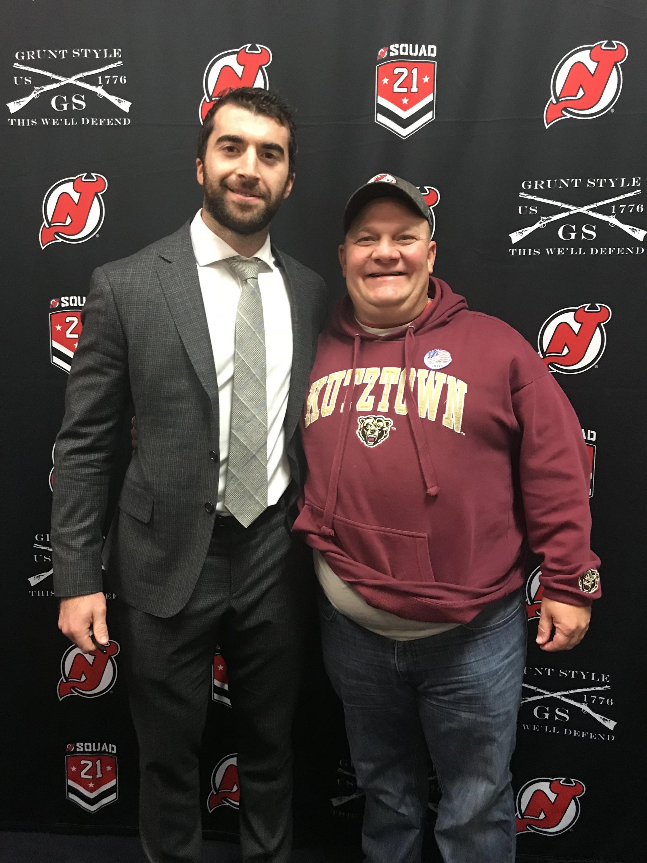 Thank you messages to veteran tickets foundation donors paul attended new jersey devils vs st louis blues nhl 21 squad m4hsunfo