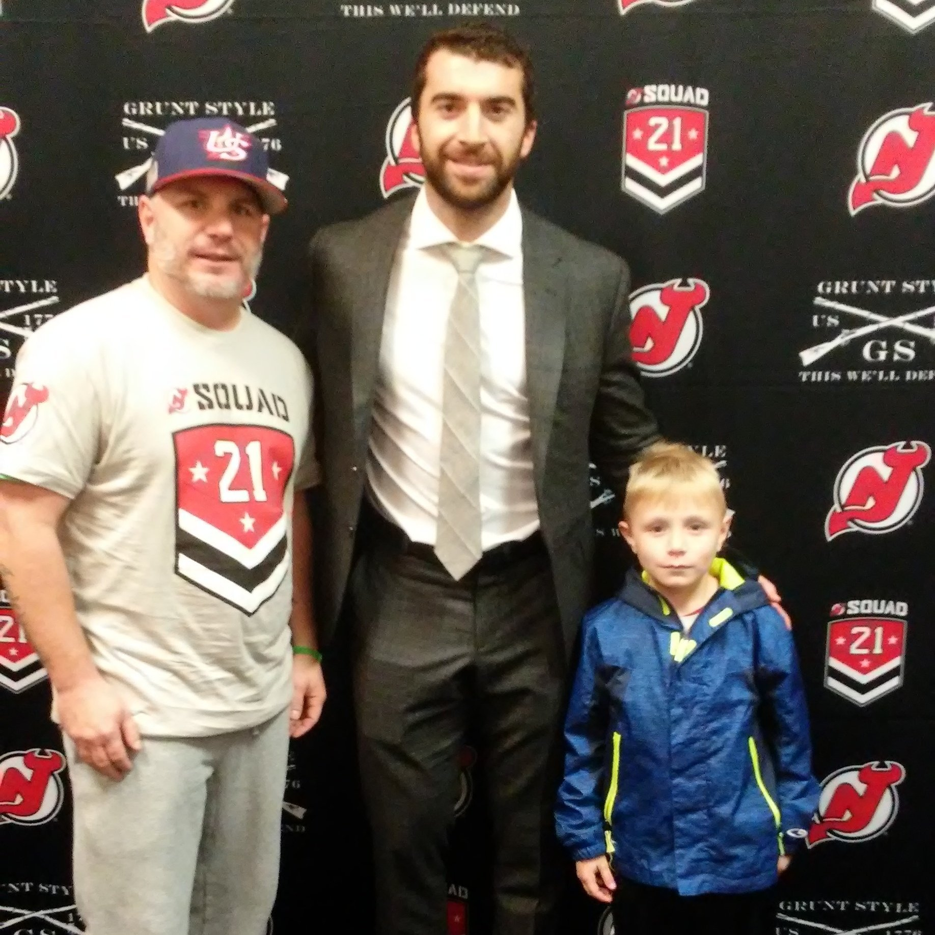 Thank you messages to veteran tickets foundation donors joseph attended new jersey devils vs st louis blues nhl 21 squad m4hsunfo