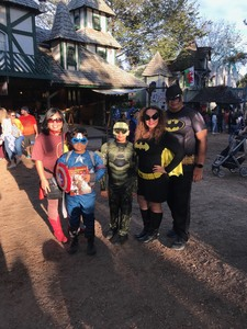 Joaquin attended Texas Renaissance Festival on Nov 11th 2017 via VetTix