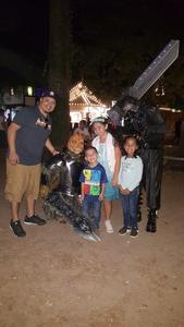 Manny attended Texas Renaissance Festival on Nov 11th 2017 via VetTix