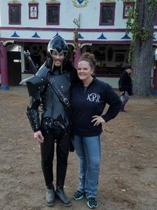 Cole attended Texas Renaissance Festival on Nov 11th 2017 via VetTix
