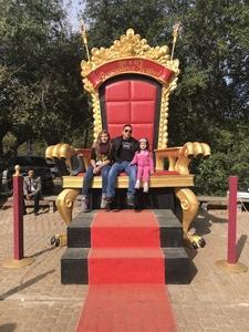 Luis attended Texas Renaissance Festival on Nov 11th 2017 via VetTix