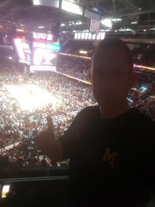 Johnathan attended Cleveland Cavaliers vs. Milwaukee Bucks - NBA - Military Appreciation Night! on Nov 7th 2017 via VetTix