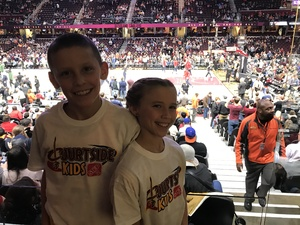 Shawn attended Cleveland Cavaliers vs. Milwaukee Bucks - NBA - Military Appreciation Night! on Nov 7th 2017 via VetTix