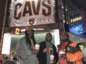 Tameko Riley attended Cleveland Cavaliers vs. Milwaukee Bucks - NBA - Military Appreciation Night! on Nov 7th 2017 via VetTix