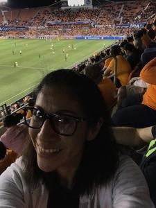 Blanca attended Houston Dynamo vs. Portland Timbers - Conference Semi-finals - MLS on Oct 30th 2017 via VetTix