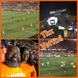 Walter attended Houston Dynamo vs. Portland Timbers - Conference Semi-finals - MLS on Oct 30th 2017 via VetTix