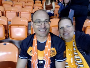 Timothy attended Houston Dynamo vs. Portland Timbers - Conference Semi-finals - MLS on Oct 30th 2017 via VetTix