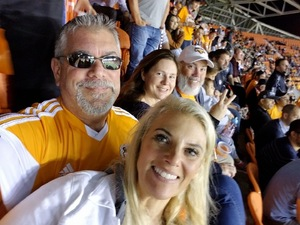 Sadie attended Houston Dynamo vs. Portland Timbers - Conference Semi-finals - MLS on Oct 30th 2017 via VetTix