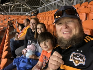 ryan attended Houston Dynamo vs. Portland Timbers - Conference Semi-finals - MLS on Oct 30th 2017 via VetTix
