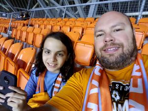 Todd attended Houston Dynamo vs. Portland Timbers - Conference Semi-finals - MLS on Oct 30th 2017 via VetTix