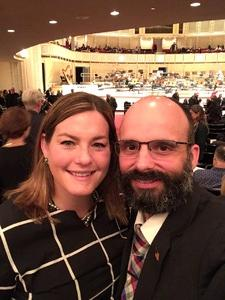 Daniel attended Honeck Conducts Schubert Symphony No. 9 - Presented by the Chicago Symphony Orchestra on Nov 11th 2017 via VetTix
