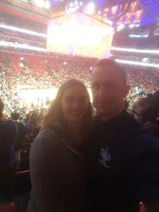 Johnathan attended Detroit Pistons vs. Atlanta Hawks - NBA - Military Appreciation Game! on Nov 10th 2017 via VetTix