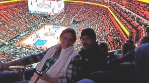 Charles attended Detroit Pistons vs. Atlanta Hawks - NBA - Military Appreciation Game! on Nov 10th 2017 via VetTix