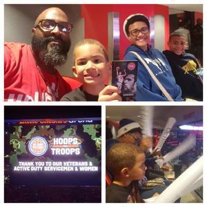 Christopher attended Detroit Pistons vs. Atlanta Hawks - NBA - Military Appreciation Game! on Nov 10th 2017 via VetTix
