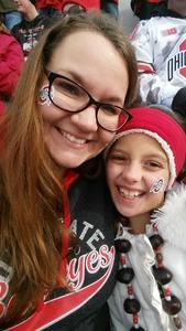 Kayla attended Ohio State Buckeyes vs. Michigan State - NCAA Football - Military/veteran Appreciation Day Game on Nov 11th 2017 via VetTix