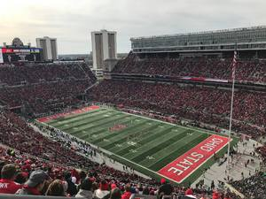 Seth attended Ohio State Buckeyes vs. Michigan State - NCAA Football - Military/veteran Appreciation Day Game on Nov 11th 2017 via VetTix
