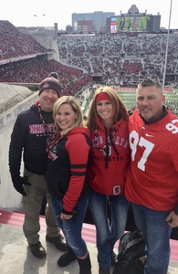 Jerrod attended Ohio State Buckeyes vs. Michigan State - NCAA Football - Military/veteran Appreciation Day Game on Nov 11th 2017 via VetTix