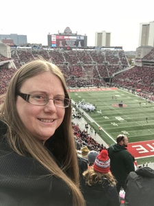 Amber attended Ohio State Buckeyes vs. Michigan State - NCAA Football - Military/veteran Appreciation Day Game on Nov 11th 2017 via VetTix
