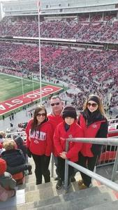 Marcus attended Ohio State Buckeyes vs. Michigan State - NCAA Football - Military/veteran Appreciation Day Game on Nov 11th 2017 via VetTix