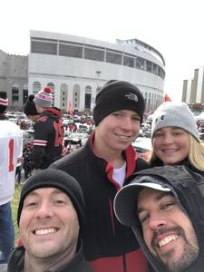 Matt attended Ohio State Buckeyes vs. Michigan State - NCAA Football - Military/veteran Appreciation Day Game on Nov 11th 2017 via VetTix