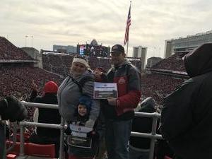stephen attended Ohio State Buckeyes vs. Michigan State - NCAA Football - Military/veteran Appreciation Day Game on Nov 11th 2017 via VetTix
