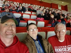 JAMES attended Indiana Hoosiers vs. South Florida - NCAA Men's Basketball on Nov 19th 2017 via VetTix