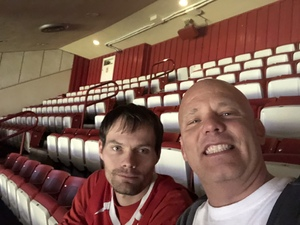 Shawn attended Indiana Hoosiers vs. South Florida - NCAA Men's Basketball on Nov 19th 2017 via VetTix