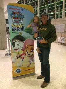 Jordan attended Paw Patrol Live! The Great Pirate Adventure - Presented by Vstar Entertainment on Nov 25th 2017 via VetTix