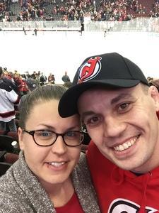 Samantha attended New Jersey Devils vs. Boston Bruins - NHL on Nov 22nd 2017 via VetTix