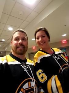 Justin attended New Jersey Devils vs. Boston Bruins - NHL on Nov 22nd 2017 via VetTix