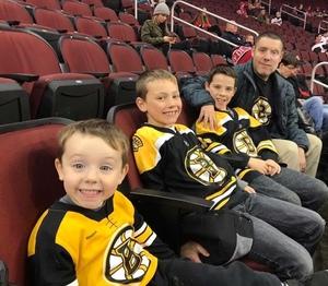 Adam attended New Jersey Devils vs. Boston Bruins - NHL on Nov 22nd 2017 via VetTix