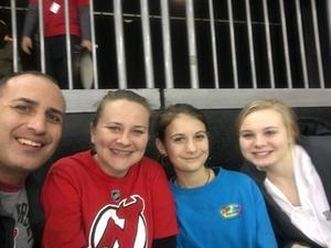 Nathaniel attended New Jersey Devils vs. Florida Panthers - NHL on Nov 27th 2017 via VetTix
