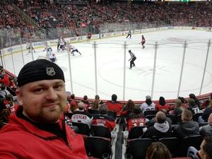 Evgueni attended New Jersey Devils vs. Florida Panthers - NHL on Nov 27th 2017 via VetTix