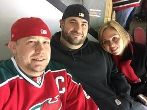 Michael attended New Jersey Devils vs. Florida Panthers - NHL on Nov 27th 2017 via VetTix