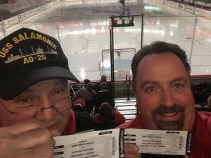 Vincent attended New Jersey Devils vs. Florida Panthers - NHL on Nov 27th 2017 via VetTix