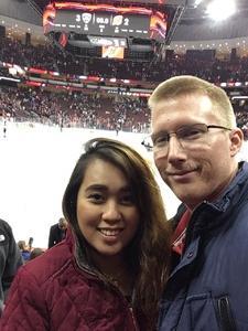 Cameron attended New Jersey Devils vs. Florida Panthers - NHL on Nov 27th 2017 via VetTix