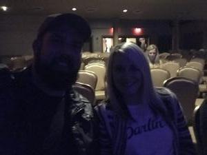 Tim and Pam attended Craig Morgan & Tate Stevens - Live in Concert! on Nov 9th 2017 via VetTix