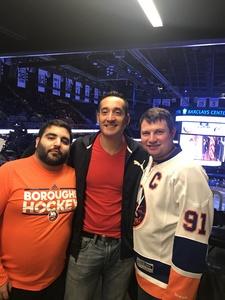 michael attended New York Islanders vs. Carolina Hurricanes - NHL on Nov 16th 2017 via VetTix