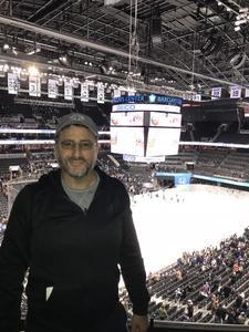 peter attended New York Islanders vs. Carolina Hurricanes - NHL on Nov 16th 2017 via VetTix