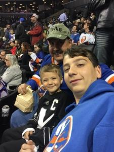 RICHARD attended New York Islanders vs. Carolina Hurricanes - NHL on Nov 16th 2017 via VetTix
