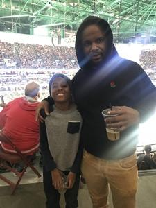 Keon attended Anaheim Ducks vs. Vegas Golden Knights - NHL on Nov 22nd 2017 via VetTix