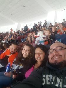 Juan attended Anaheim Ducks vs. Vegas Golden Knights - NHL on Nov 22nd 2017 via VetTix