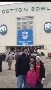 ROBERT attended 2017 Zaxby's Heart of Dallas Bowl - West Virginia Mountaineers vs. Utah Utes - NCAA Football on Dec 26th 2017 via VetTix