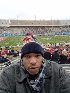 Norman attended 2017 Zaxby's Heart of Dallas Bowl - West Virginia Mountaineers vs. Utah Utes - NCAA Football on Dec 26th 2017 via VetTix