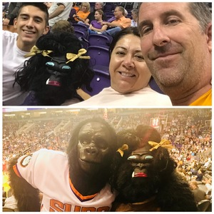 Elizabeth attended Phoenix Suns vs. New Orleans Pelicans - NBA on Nov 24th 2017 via VetTix