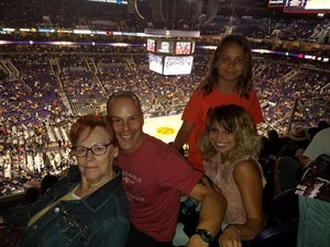 michael attended Phoenix Suns vs. New Orleans Pelicans - NBA on Nov 24th 2017 via VetTix
