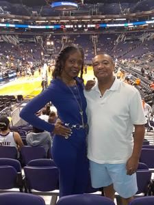 jeffery attended Phoenix Suns vs. Los Angeles Lakers - NBA on Nov 13th 2017 via VetTix