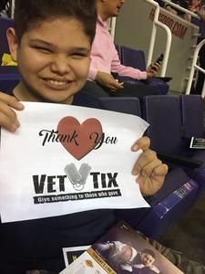 Brandon chavez attended Phoenix Suns vs. Los Angeles Lakers - NBA on Nov 13th 2017 via VetTix